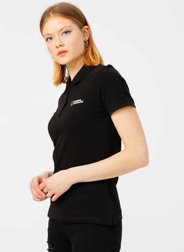 National Geographic National Geographic Siyah Polo T-Shirt Siyah